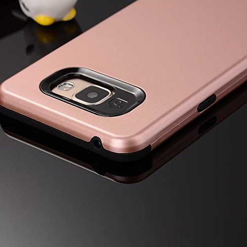 YHUISEN Galaxy A5 2016 Case, 2 In 1 PC + TPU Rüstung Hybrid Dual Layer Schutz Schock Absorption Hard Back Cover Case für Samsung Galaxy A5 2016 A510 ( Color : Black ) Gold