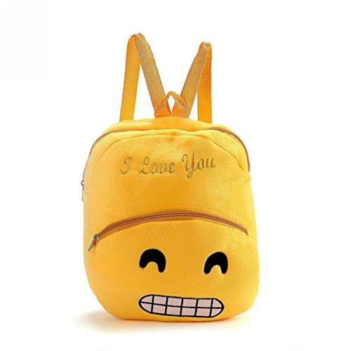 Bluelans Emoji borsa a tracolla zaino Student Boy Girl zaino scuola Bookbag Gift, 5#, 38cm x 32cm/14.96 x 12.60 5#