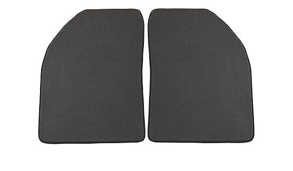 Coverking Custom Fit Front Floor Mats for Select Nissan Van Models Black Nylon Carpet