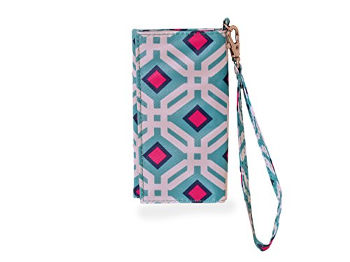 All For Color Ocean Graphic ID Wristlet