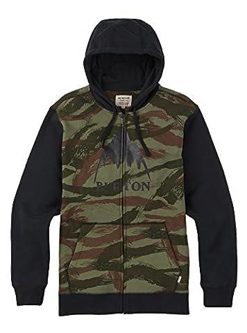 Burton Classic Mountain Sweat-Shirt à Capuche Homme, Brush Camo, FR : L (Taille Fabricant : L)