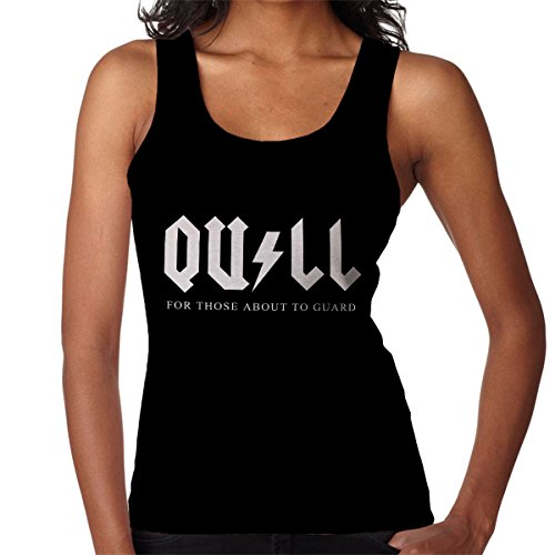Guardians Of The Galaxy ACDC Quill Women's Vest Black