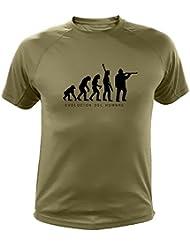 Camiseta de caza, Evolucion del hombre - Regalos para cazadores