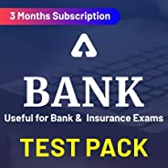 Adda247 Bank Test Pack Online Test Series (3 Months) (Email Delivery in 2 hours)