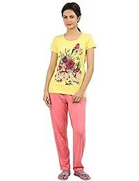 New Darling Womens Lime Light Top & Pyjama Set