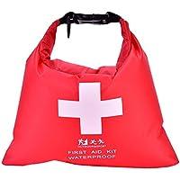 Notfall Erste Hilfe Kit, 1.2L Tragbare Outdoor-Aktivitäten Notfallkoffer Wasserdichte Tasche für Camping Wandern... preisvergleich bei billige-tabletten.eu