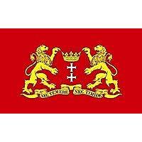 Flagge Fahne Danzig 60 x 90 cm FLAGGENMAE/®