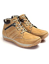 STYLE CODE Men's Casual Leather Boots