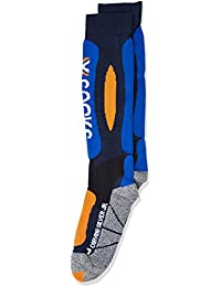 X-Socks calcetines de esquí carving Silver Junior Varios colores Blue Marine/Cobalt Blue Talla:35/38