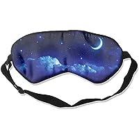 Moon And Stars 99% Eyeshade Blinders Sleeping Eye Patch Eye Mask Blindfold For Travel Insomnia Meditation preisvergleich bei billige-tabletten.eu