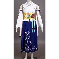 Vivian Final Fantasy F13 Yuna cosplay costume (Può essere personalizzato),taglia M (altezza 160-165 cm,50-60 (Costumi Final Fantasy Cosplay)