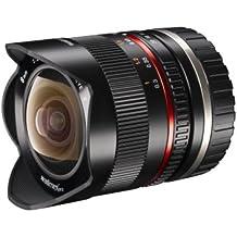 Walimex pro Pro VE - Objetivo para Canon (apertura f/2.8 f stop-22 f stop), negro