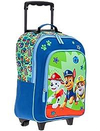 5348ef25627 Kinderkoffer Kindertrolley Paw Patrol Trolley Jungen Mädchen Kindergepäck  Green + Eisbär