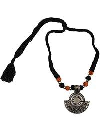 Taj Pearl Designer Tribal Necklace For Women & Girls \ Tribal Pendant Necklace Antique Jewellery For Women \ Oxidised...