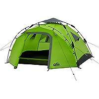 Qeedo Quick Pine 3 Tenda Campeggio 3 posti Automatica (Quick Up System) - Verde