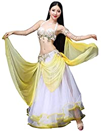 3b0bb5838f17 CX Danse du Ventre Costume Ensemble Danse Orientale Automne Et Hiver Costume  De Danse Fée Sexy