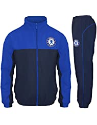 Chelsea FC officiel - Lot veste et pantalon de survêtement thème football - garçon