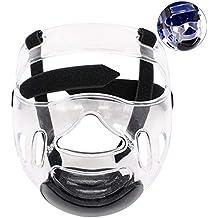Máscara De Casco De Taekwondo Extraíble Cabeza Protectora Cabeza Protectora Boxeo De Protección Casco De Taekwondo