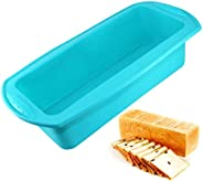 Rectangular Silicone Cake Mold 3D Fondant Bread Soap Chocolate Toast Bakeware Baking Mould DIY Christmas Cake