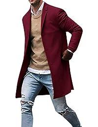 Blazer Clásico para Hombre Fiesta Trajes de Chaqueta de Boda Slim Fit Otoño  Invierno Un Solo 05e237c0d0f8