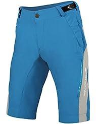 Endura - SingleTrack Lite Shorts, color azul, talla XL