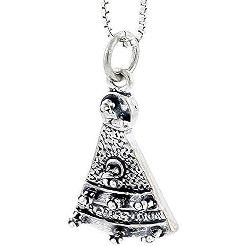 In argento Sterling con ciondolo a forma
