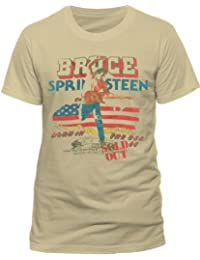 Bruce Springsteen Men's Tour Short Sleeve T-Shirt