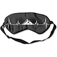 Heartbeat Mountains 99% Eyeshade Blinders Sleeping Eye Patch Eye Mask Blindfold For Travel Insomnia Meditation preisvergleich bei billige-tabletten.eu