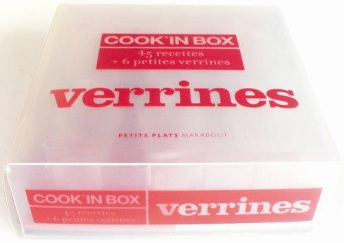 Cook'in Box verrines : 45 Recettes et 6 petites verrines