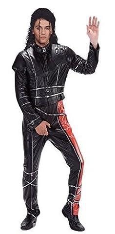 Noir pour homme Michael Jackson 1980s 1990s musique Celebrity Jewellery Fancy me Déguisement de petite taille