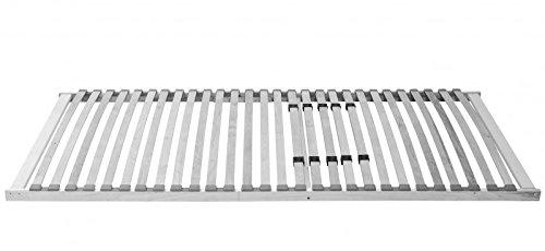 XXL Lattenrost extra stabil auch für Schwergewichtige Schwerlast bis 200 kg , Betten-Abmessung:140 x 200