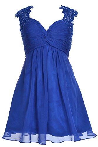 MACloth - Robe - Femme Azul Real