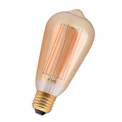 Girard Sudron Edison LED Fadenlampe, 2 W, E27 Bernstein, 2100 K GS-715992