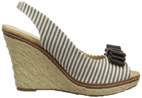 Lunar - Jlh615, Espadrillas basse Donna Marrone (Brown)