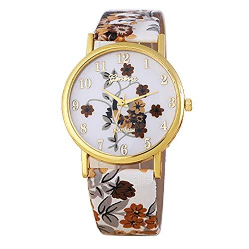 YunYoud Mode Genf Frauen Lederband Quarz Analog Armbanduhr quadratisch handuhr designer runde armband digitaluhr goldene armbanduhr damen elegant uhr frauen silber schmal damenuhr