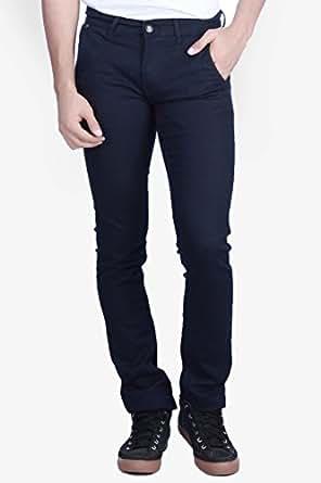 Exile Men's Denim Straight Fit Jeans, Blue (50)