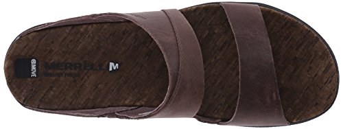 Merrell - Around Town Slide, Sandali Donna Brown