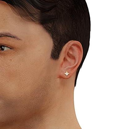 BlueStone 14k (585) Yellow Gold and Diamond Eclat Stud Earrings