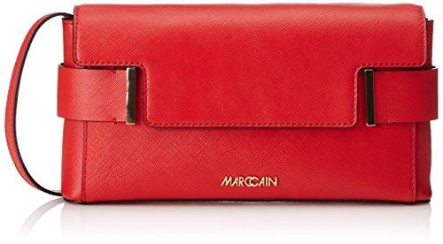 Marc Cain - MarcCainDamen_ClutchesFBTL.01L01, Pochette Donna Rosso (Rot (pompeian 275 275))