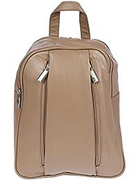 Christian Wippermann® - Bolso mochila  para mujer negro negro 20 x 26 x 10 cm