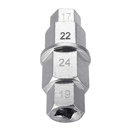 Vkospy Zufällige Farbe Motorrad-Reifen Inbusschlüssel Spindle Schlüssel-Werkzeug 3/8