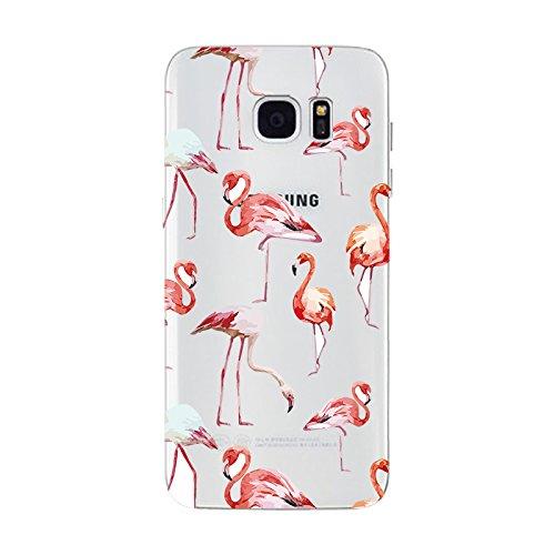 IPHONE 6 6S Hülle Weich Silikon TPU Schutzhülle Ultradünnen Case für iPhone 6 6s Schutz Hülle Flamingos