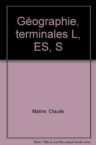 Géographie, terminales L, ES, S