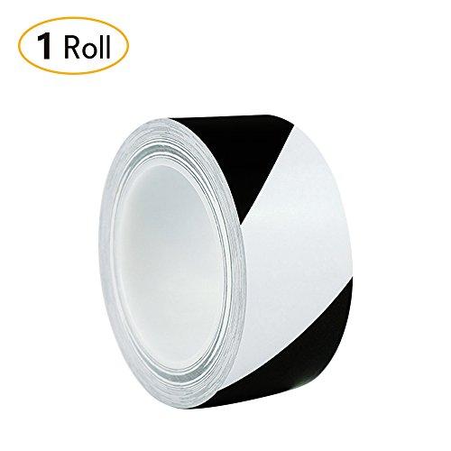 Jia HU-Farben mit gestreiften Band mit Schwung-Bänder-Set für Teppich-4* 36YD schwarz/weiß