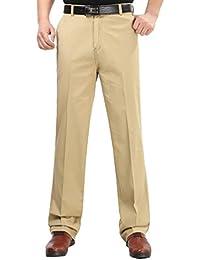 LvRao Pantalon Largo De Negocio Para Hombre Cool Pantalones De Traje