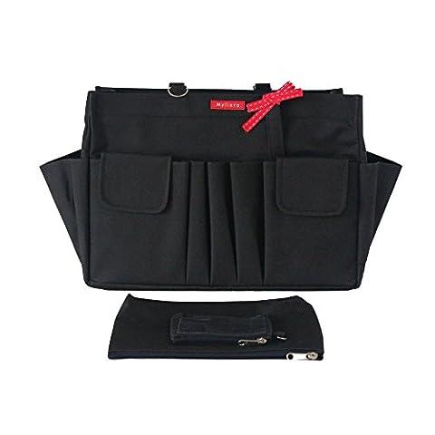 Myliora Organiseur de sacs à main, noir (noir) - MYLI-0516800