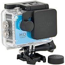 SJCam SJ-LENS-4000 - Kit original SJCAM cubre objetivo para cámara + cubre objetivo de carcasa estanca, color negro