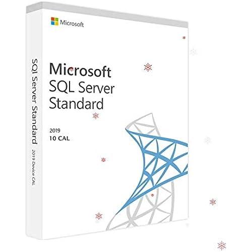 SQL Server 2019 Standard 10 CAL Key Licenza elettronica / spedizione Immediata / Fattura / Assistenza 7 su 7