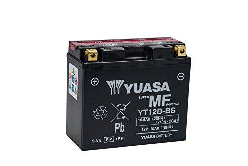 Zoom IMG-1 yuasa batterie yt12b bs agm
