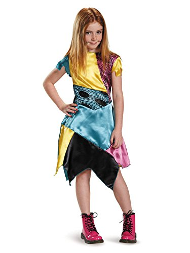 (Disguise Sally Child Classic Nightmare Before Christmas Disney Costume, Large/10-12 by Disguise)
